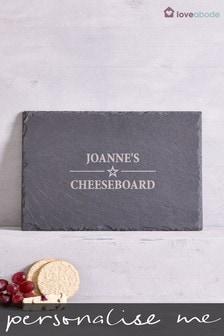 Personalised Slate Cheeseboard By Loveabode