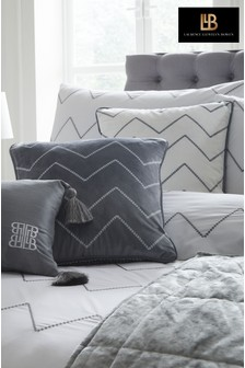 Laurence Llewelyn-Bowen Embroidered Chevron Cushion