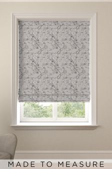Cassandra Sand Grey Made To Measure Roman Blind