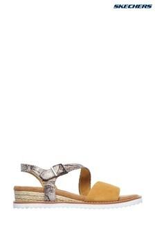 skechers yellow sandals