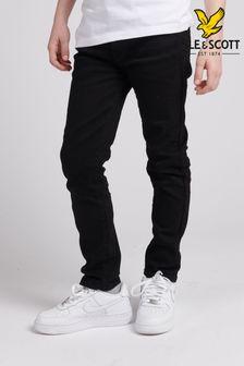 Lyle & Scott Black Skinny Fit Classic Jeans