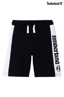 Timberland® Black Logo Shorts