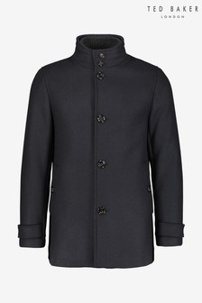 Ted Baker Offis Single Breasted Wool Coat