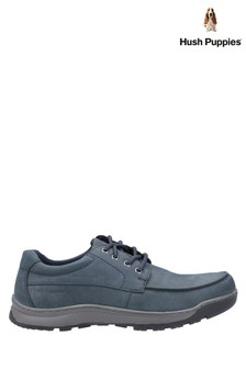Hush Puppies Blue Tucker Lace Shoes