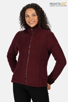 Regatta Purple Brandall Full Zip Fleece Jacket