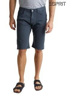 Esprit Blue Archroma Woven Shorts