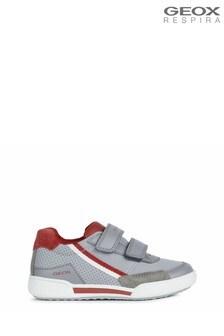Geox Boy's Poseido Grey Shoes