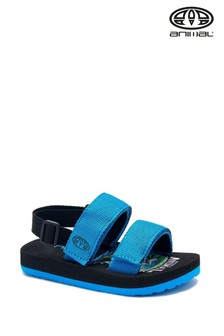 Animal Black Bodhy Sandals