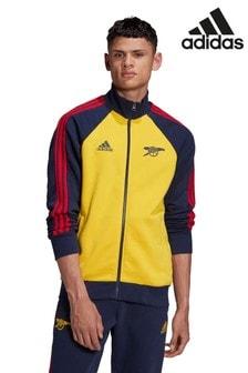 adidas Yellow Arsenal Football Club Icon Top