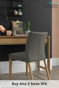 Bergen Oak Desk by Bentley Designs