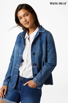 White Stuff Blue Dena Denim Jacket