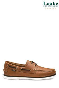 Loake Tan Deck Shoes