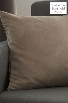 Catherine Lansfield Faux Suede Cushion