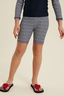 FatFace Blue Stripe Leggings