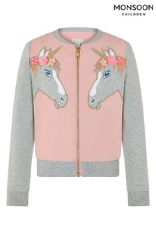 Monsoon Tara Unicorn Bomber Jacket