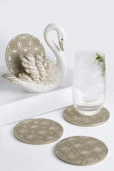Gold Swan Coasters