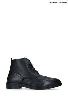Kurt Geiger London Black Pierre Boots