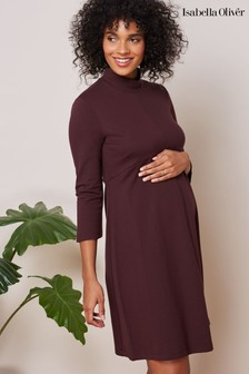 Isabella Oliver Purple Kennett Maternity Dress