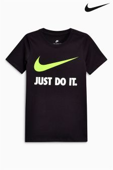 Nike Just Do It. Swoosh Logo Tee