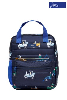 Joules Blue Venture Padded Backpack