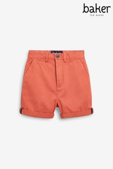 Baker by Ted Baker Rust Chino Shorts
