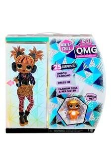 L.O.L. Surprise OMG Winter Wonderland Doll 4 AA