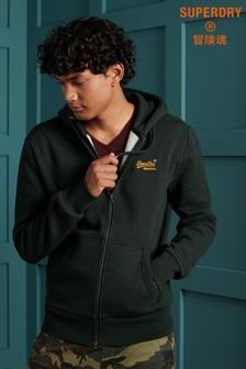 Superdry Orange Label Classic Zip Through Hoody