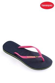 Havaianas® Slim Brasil Logo Flip Flops