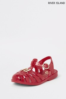 River Island Mini Caged Jelly Sandal