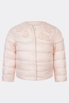Moncler Enfant Baby Girls Pink Denisa Jacket