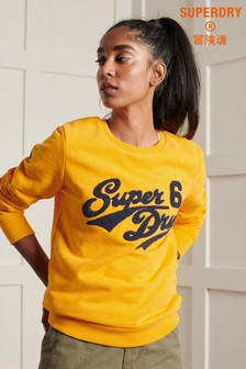 Superdry Limited Edition College Chenille Crew Sweatshirt