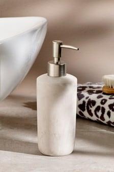 Marble Stone Effect Soap Dispenser