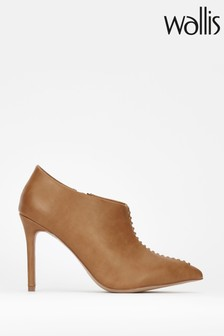 Wallis Tan Prince Whipstitch Shoe Boots