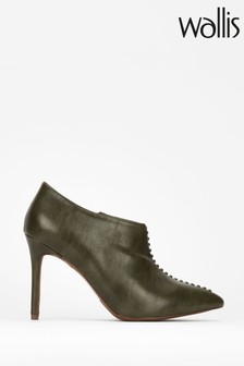 Wallis Green Prince Whipstitch Shoe Boots