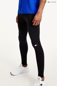Tommy Hilfiger Black Full Length Leggings