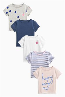 T-Shirts Five Pack (3-16yrs)