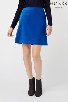 Hobbs Blue Vanetta Skirt