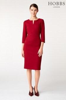 Hobbs Red Viviene Dress