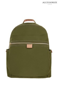 Accessorize Green Melissa Backpack