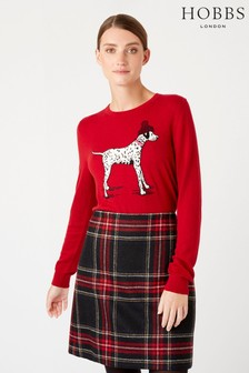 Hobbs Red Riley Sweater
