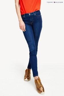 Tommy Hilfiger Blue Harlem Super Skinny High Waisted Flex Jeans