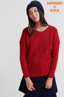 Superdry Aimee Rib Jumper