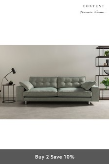 Terence Conran Hoxton Two Seater Sofa Quince