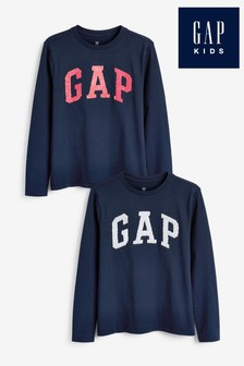 Gap Long Sleeve T-Shirts Two Pack