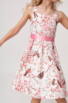 Oasis Printed Prom Dress