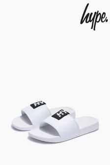 Hype. White Tab Sliders