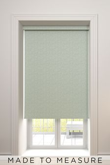 Raya Forest Green Made To Measure Roller Blind