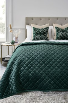 Hamilton Velvet Quilted Throw