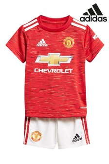 adidas Manchester United Home 20/21 Baby Kit