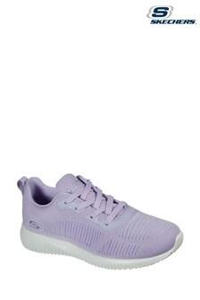 Skechers® Purple Bobs Squad Trainers
